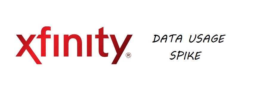 xfinity data usage spike