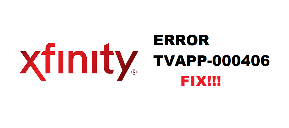 xfinity error tvapp-00406