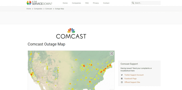 8 Websites To Check The Xfinity Internet Outage - Internet ...