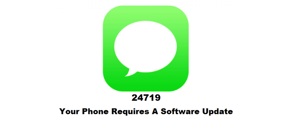 24719 your phone requires a software update