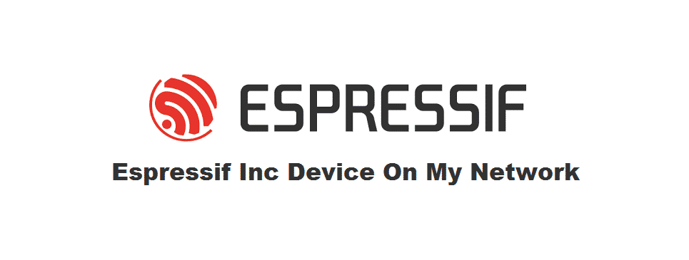 espressif inc device on my network