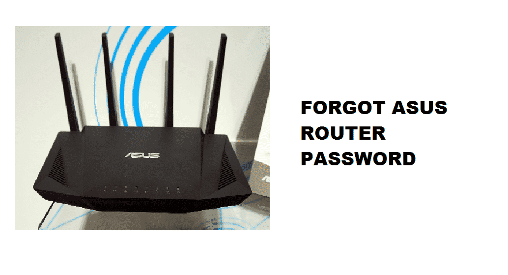 forgot asus router password