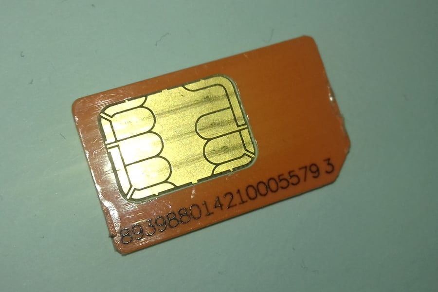 how to find 20 digit sim card number