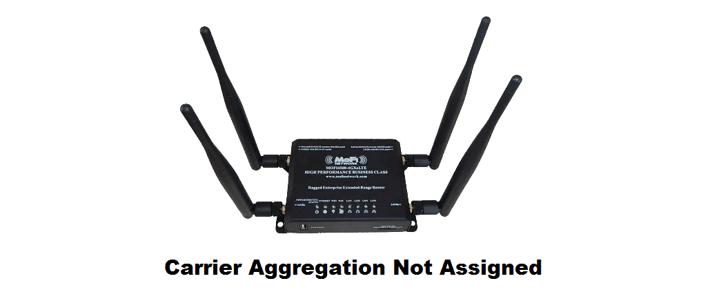 mofi carrier aggregation not assigned