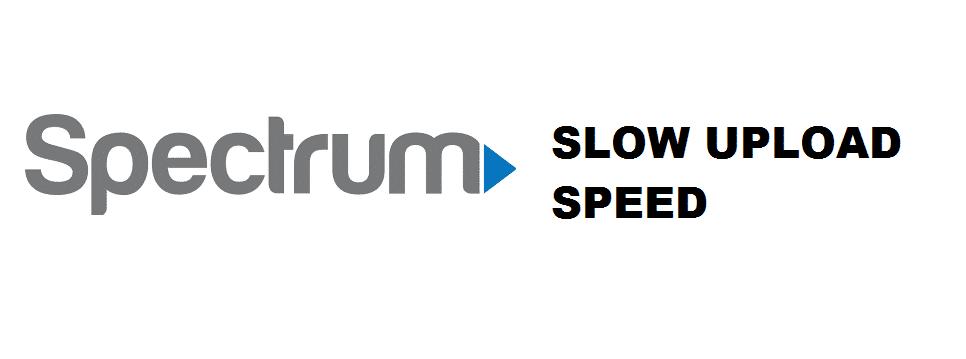 spectrum upload speed slow