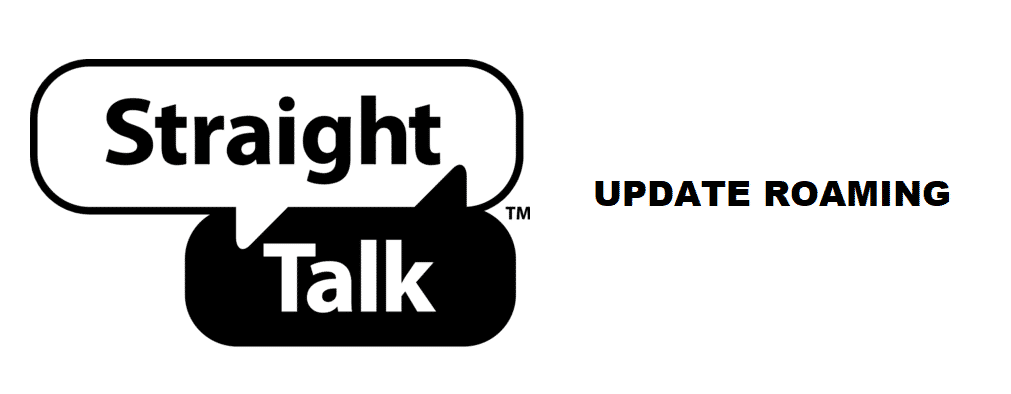 straight talk update roaming