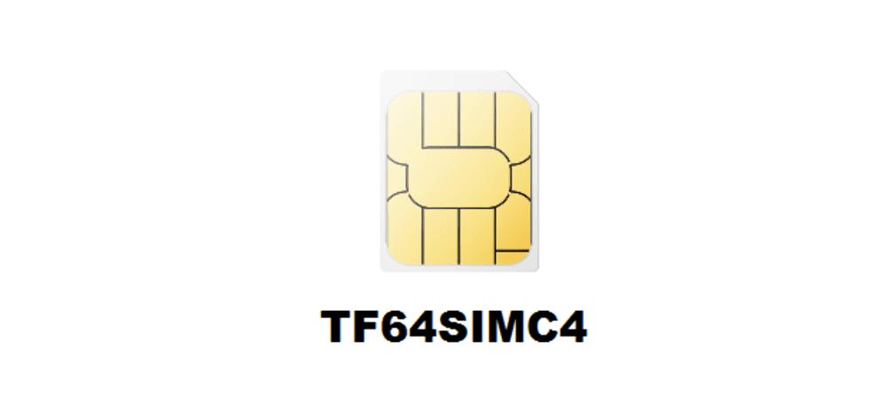 tf64simc4 sim card