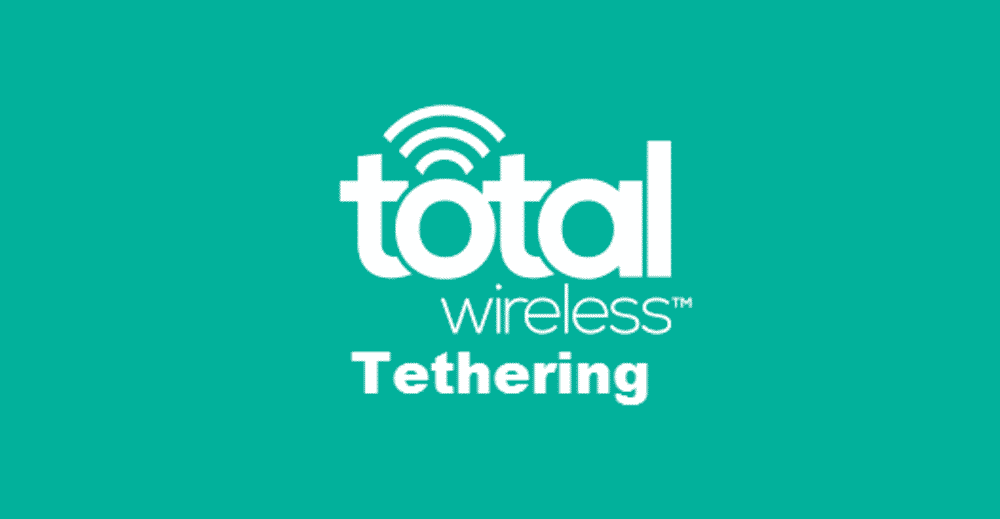 total wireless tethering