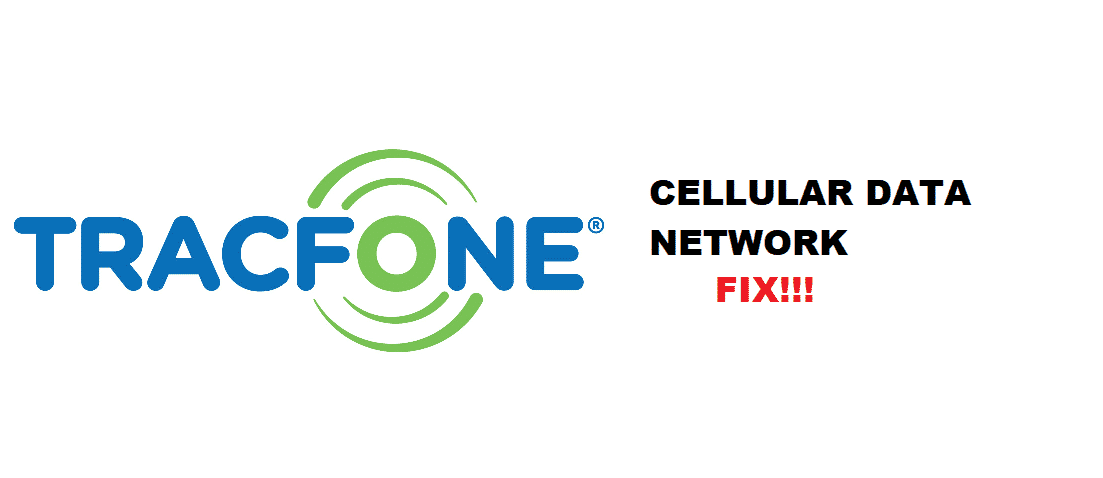 tracfone could not activate cellular data network