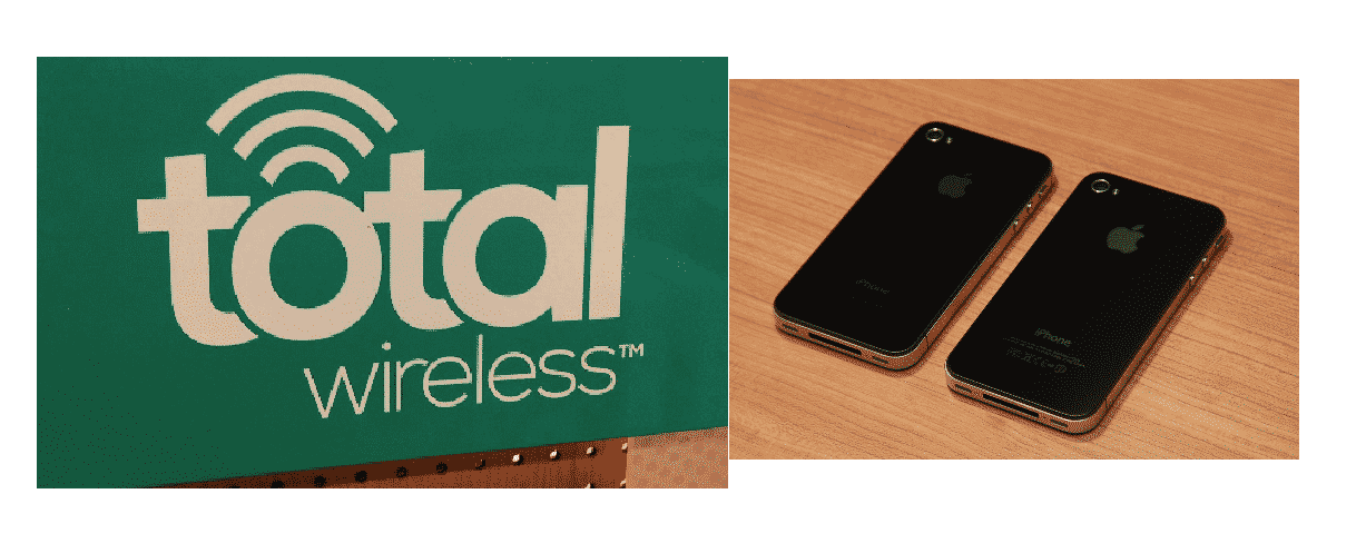 unlock total wireless phone
