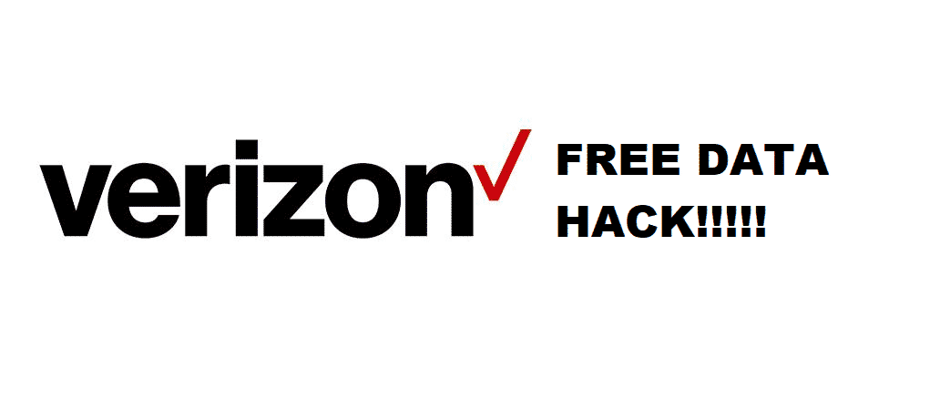 verizon free data hack