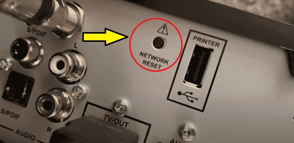 Resetting the network