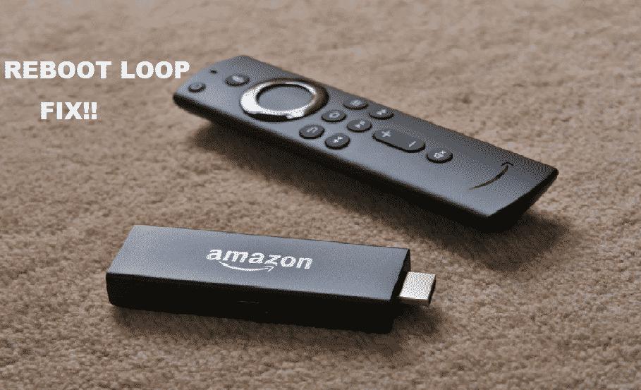 amazon fire stick reboot loop