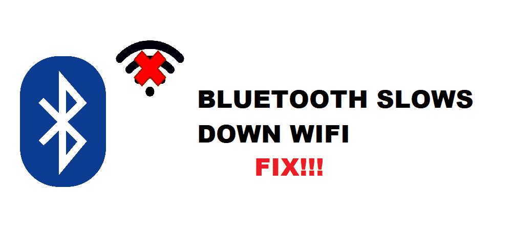 bluetooth slows down wifi