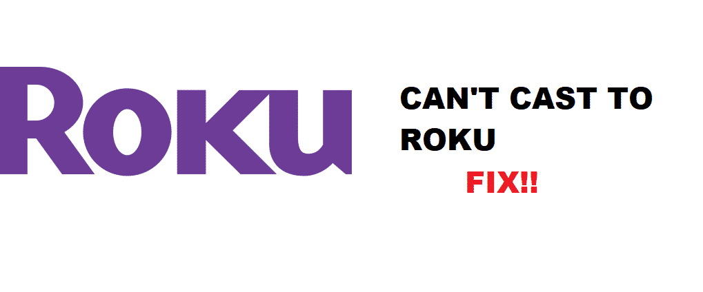 can't cast to roku