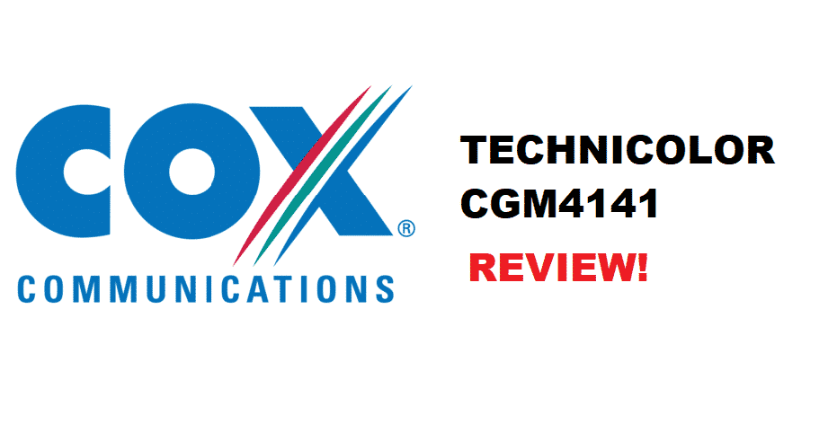 cox technicolor cgm4141 review