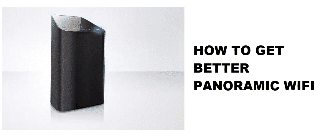 how to get better panoramic wifi