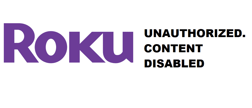roku hdcp unauthorised.content disabled