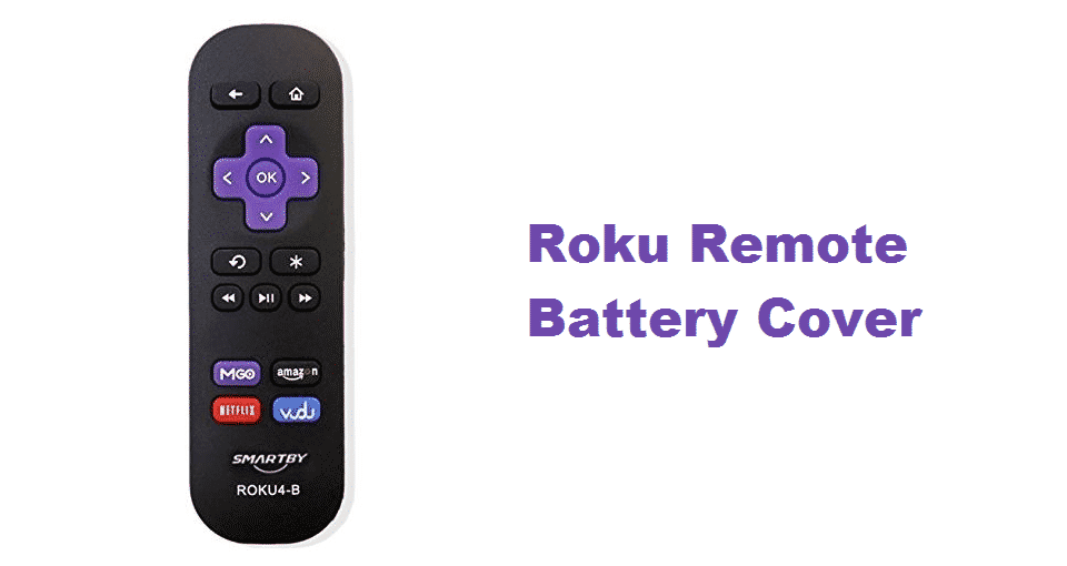 roku remote battery cover