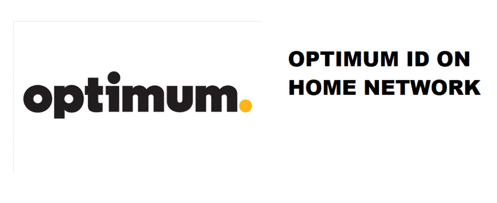 you can only create an optimum id from your home network