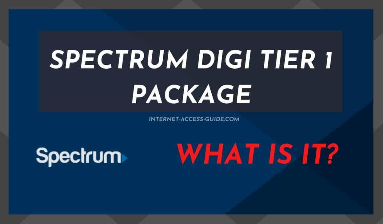 Spectrum Digi Tier 1