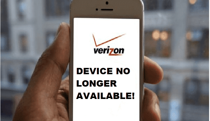 as a result of network upgrades your device is no longer supported on verizon