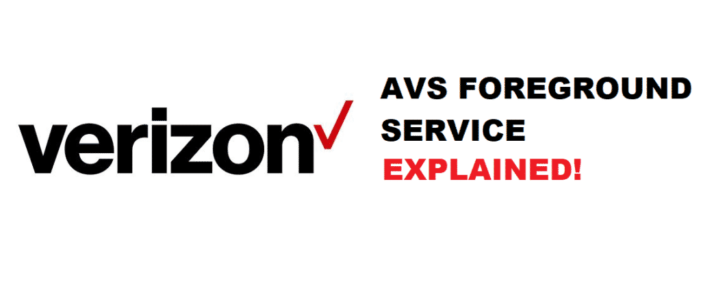 avs foreground service