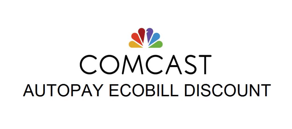 comcast autopay ecobill discount