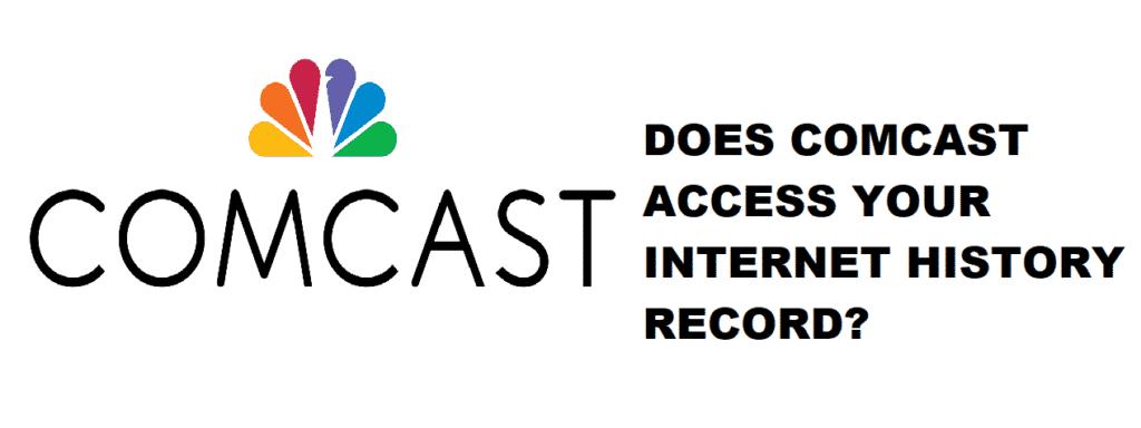 comcast internet history records