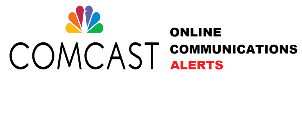 online communications alerts comcast net