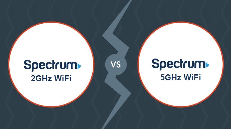 spectrum 2ghz vs 5ghz wifi
