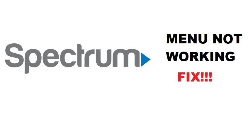 4 Ways To Fix Spectrum Menu Not Working - Internet Access ...