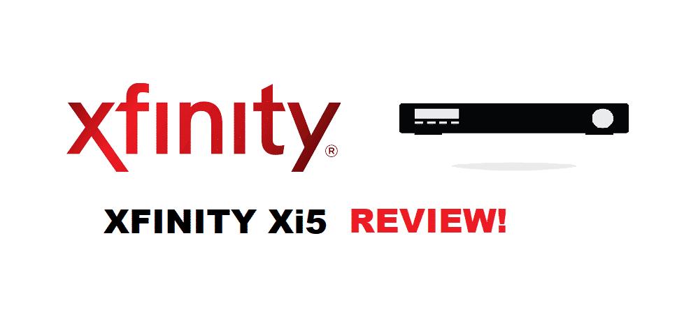 xfinity xi5 tv box review
