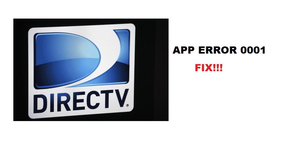 directv app error 0001