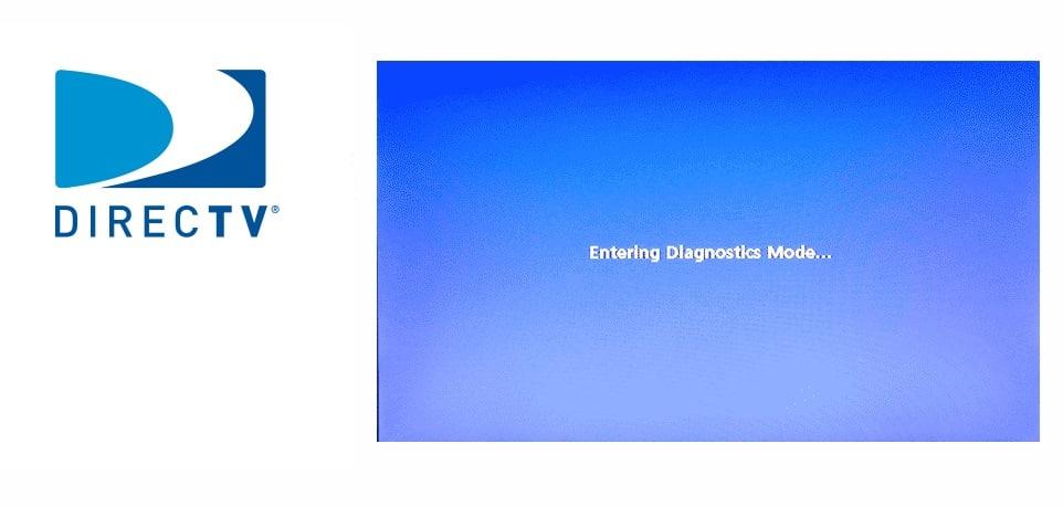 DirecTV Entering Diagnostics Mode