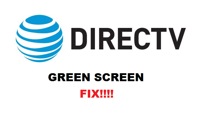 directv green screen