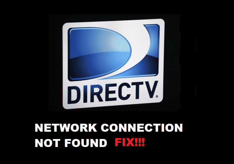 directv network connection not found please check cabling