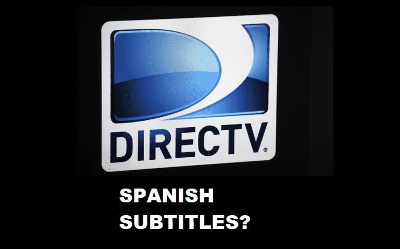 directv spanish subtitles