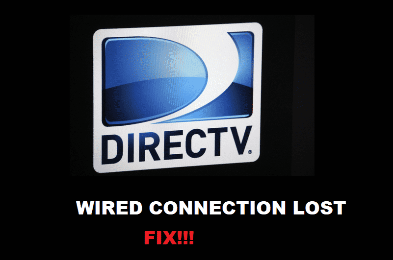 directv wired connection lost
