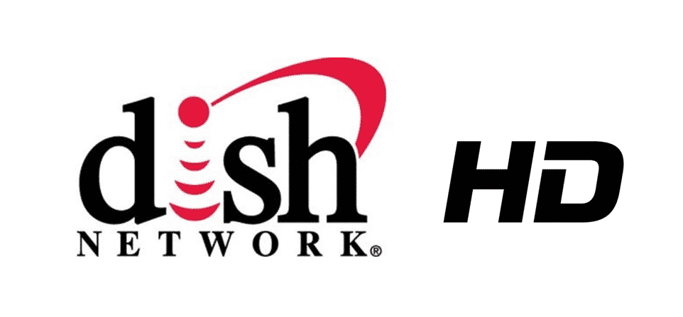 dish tv only showing hd channels