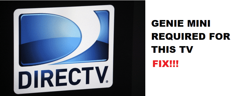 genie mini required for this tv