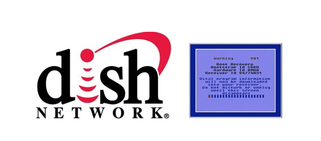 what does boot recovery mean on dish network