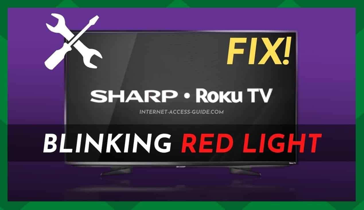 Sharp Roku TV Blinking Red Light