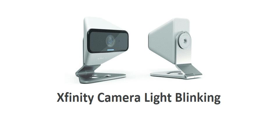 xfinity camera light blinking
