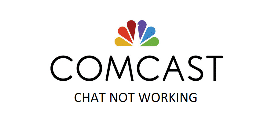 comcast chat not working