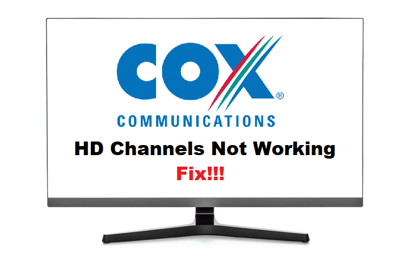 cox hd channels not working