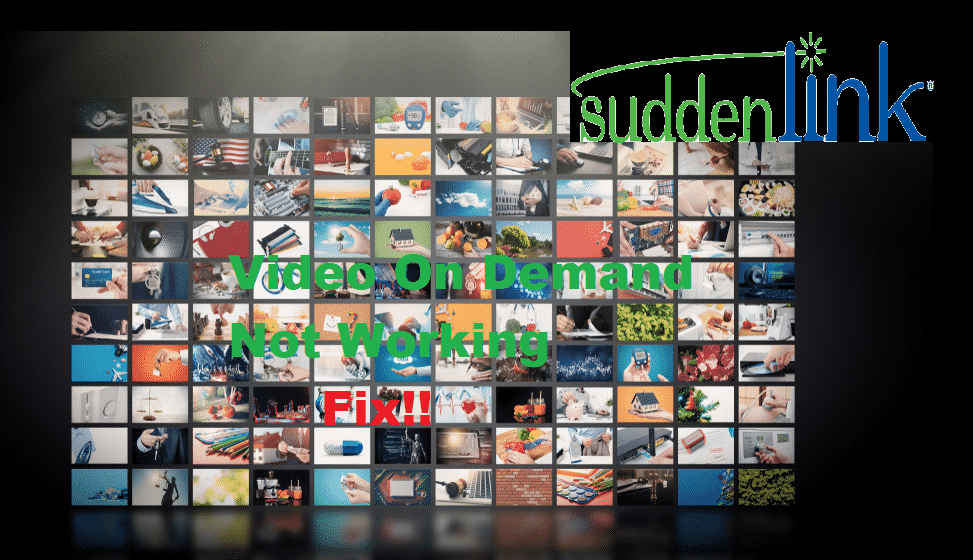 suddenlink vod not working