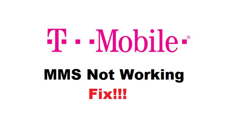 tmobile mms not working