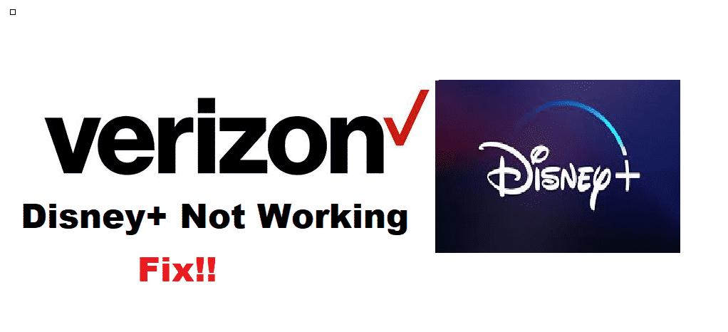 verizon disney plus not working