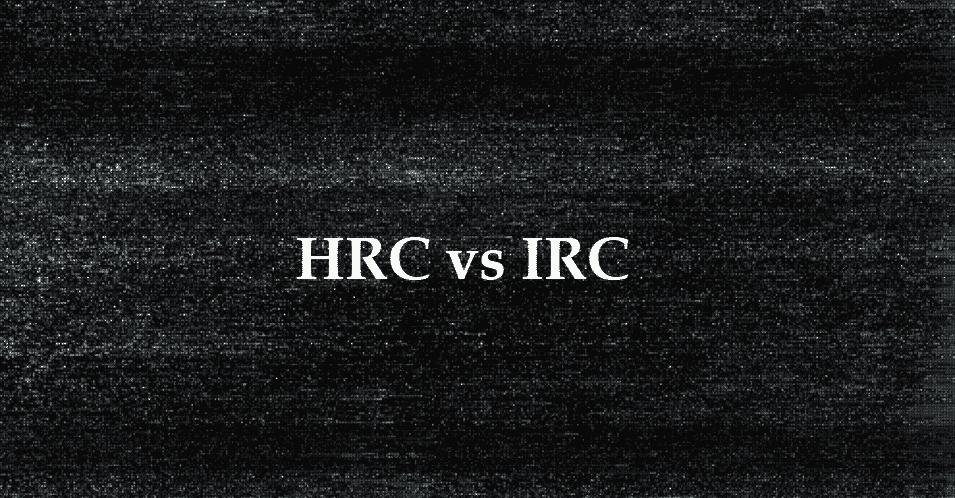 hrc vs irc